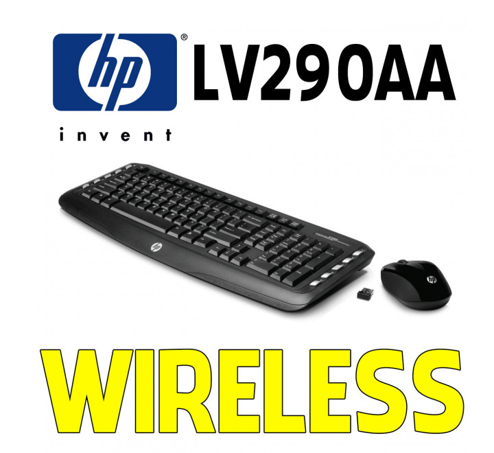 Tastiera e Mouse HP Nuova Wireless LV290AA
