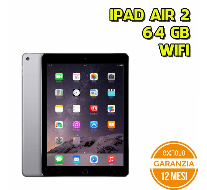 Apple iPad Air 2 64GB WiFi Spacegray - Grado A