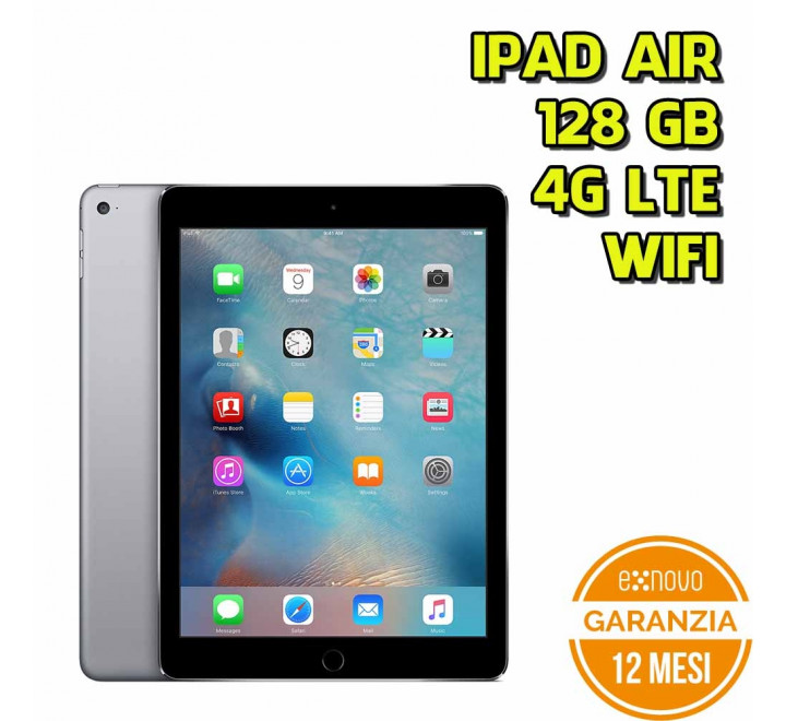 Apple iPad Air 128GB WiFi 4G Spacegray - Grado A