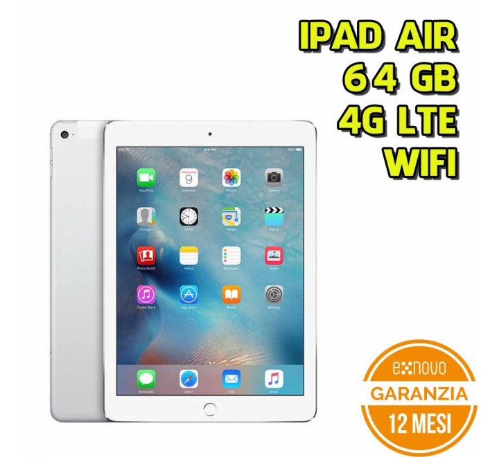 Apple iPad Air 64GB WiFi 4G Silver - Grado A