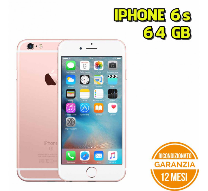 Apple iPhone 6s Ricondizionato 64GB Rose Gold - Grado A