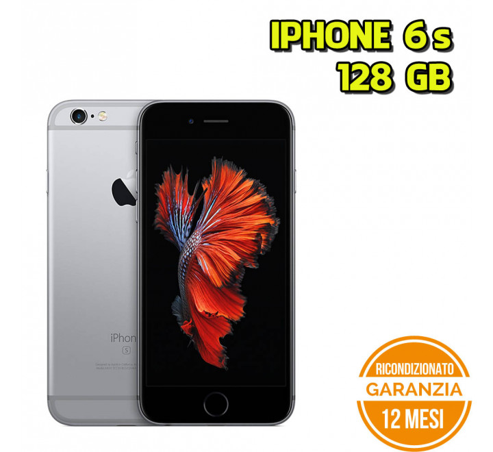 Apple iPhone 6s Ricondizionato 128GB Spacegray - Grado A