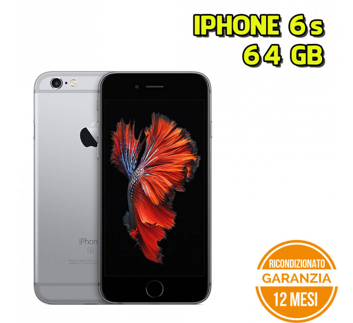 Apple iPhone 6s Ricondizionato 64GB Spacegray - Grado B