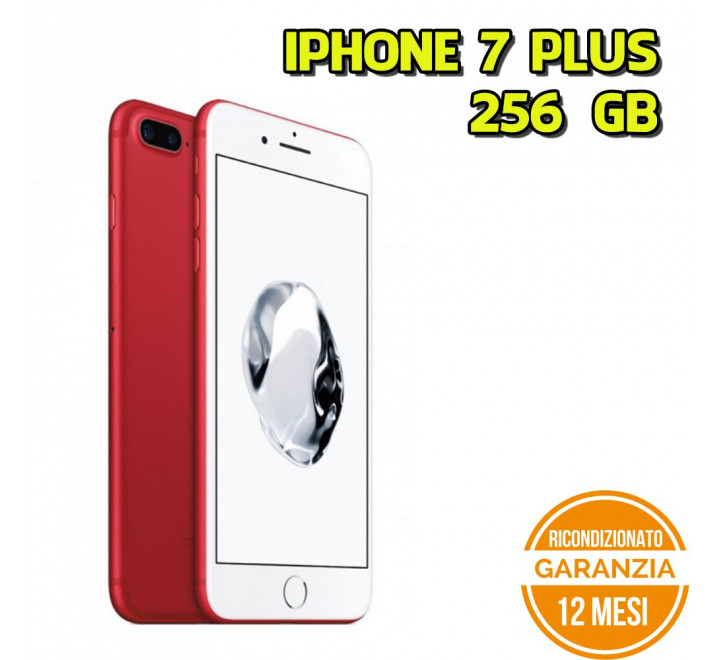 Apple iPhone 7 Plus Ricondizionato 256GB Product Red - Grado B