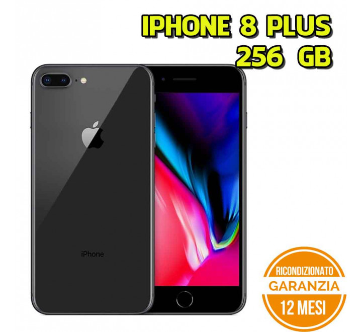 Apple iPhone 8 Plus Ricondizionato 256GB Spacegray - Grado A