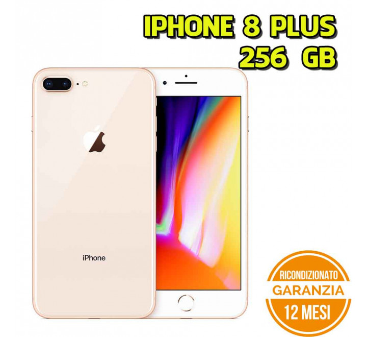 Apple iPhone 8 Plus Ricondizionato 256GB Gold - Grado A