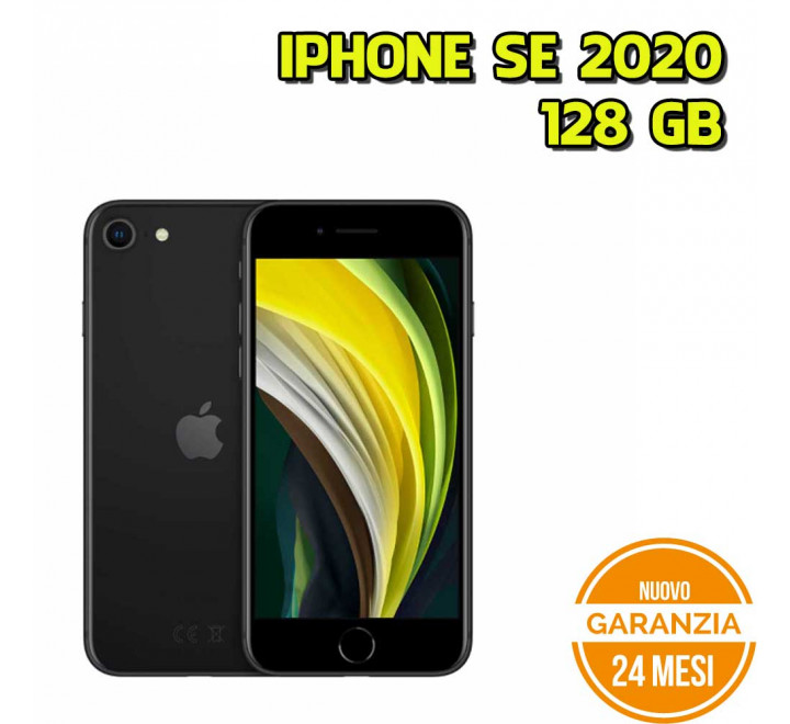 Apple iPhone SE 2020 128GB Black - Nuovo