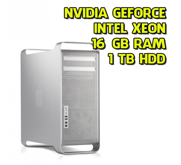 Desktop Apple Mac Pro 4.1 Intel Xeon W3520 2.66GHz 16GB Ram 1TB HDD High Sierra Nvidia GT120