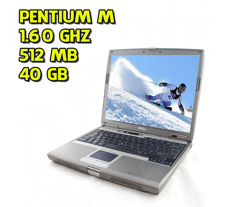 Notebook usato Dell Latitude D600/610 Intel Pentium M @ 1.60GHz 512MB Ram 40GB HDD Windows XP