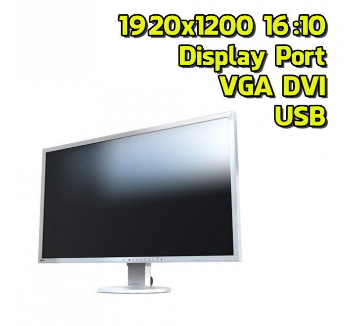 "Eizo EV2436W 24"" 1920x1200 FullHD VGA DVI Display Port USB IPS 16:10"