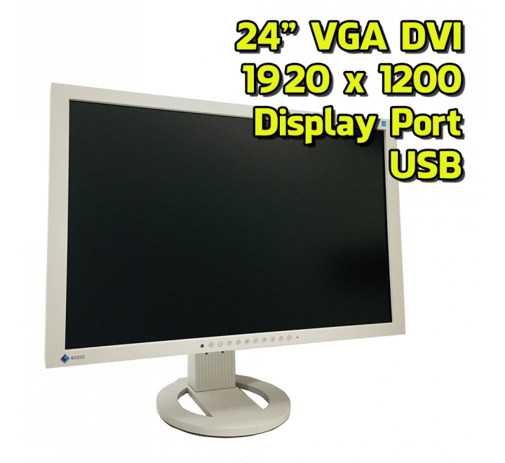 "Monitor Eizo S2433W 24"" FullHD 1920x1200 16:10 VGA USB DVI-D Display Port"