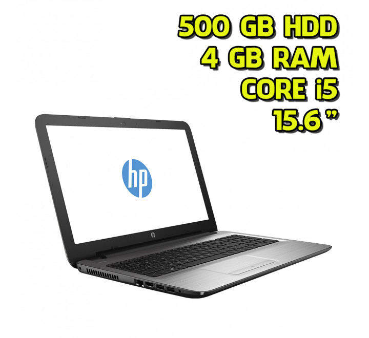 "Notebook nuovo HP 250 G5 Intel Core i5-7200U 2.50GHz 4GB Ram 500GB HDD 15,6"" Win 10 Home"