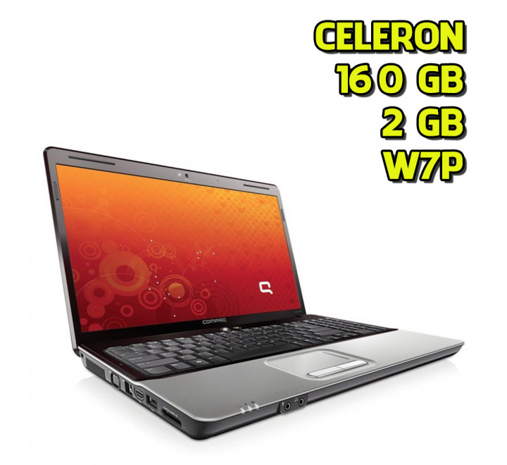 Notebook usato HP Compaq 610 Intel Celeron 570 @ 2.26GHz 2GB Ram 160GB HDD Windows 7 Professional