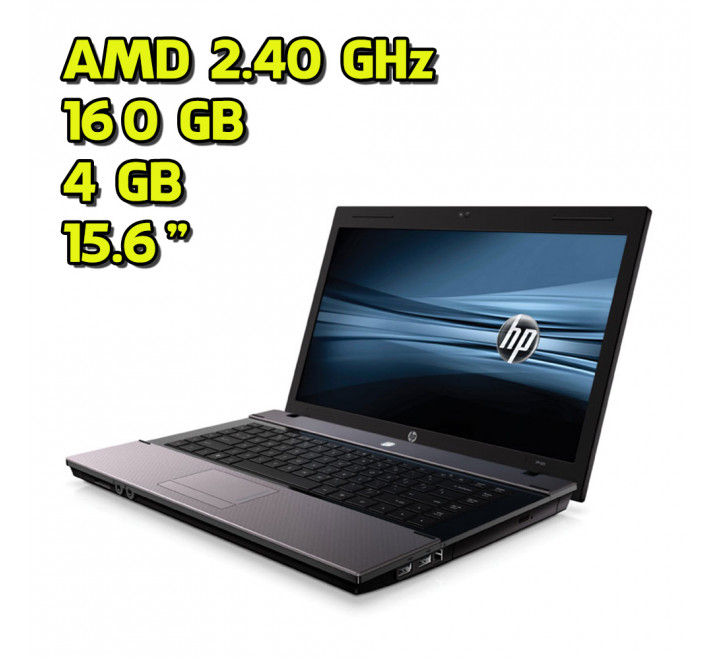 Notebook usato HP 625 AMD V140 @ 2.30GHz 4GB Ram 160GB HDD Windows 7 Professional