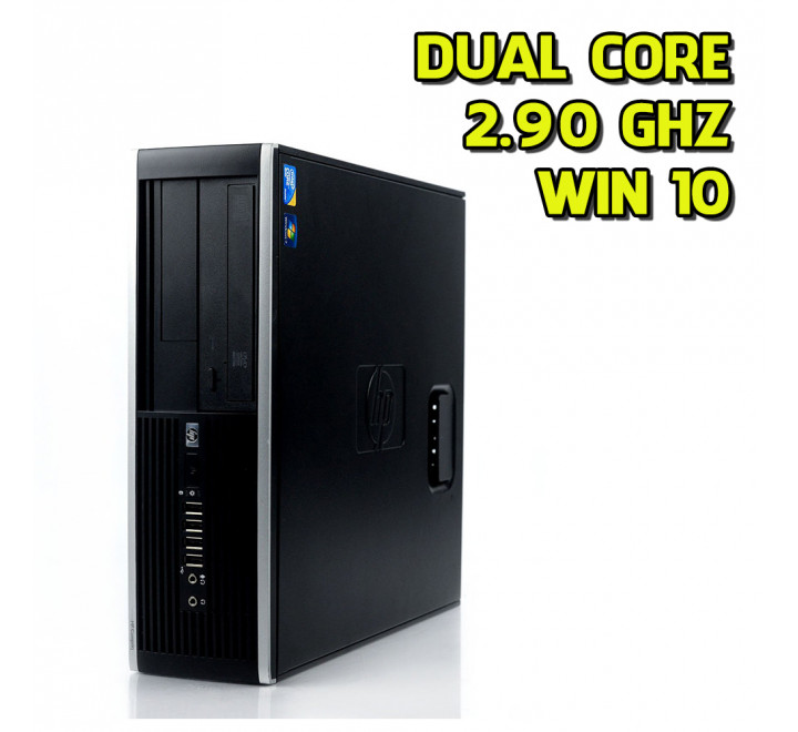 Desktop HP 8000 SFF Intel Core 2 Duo E7500 2,90GHz 4GB Ram 500GB HDD Win 10 Pro