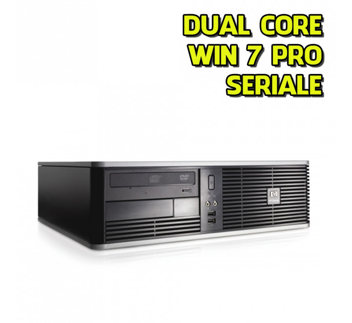 Desktop HP DC7800 SFF Intel Core 2 Duo E6550 2,33GHz 4GB Ram 160GB HDD DVDRW Win 7 Pro