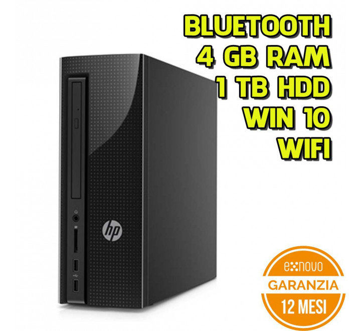 Desktop HP Slimline 260-A124NL Intel Celeron J3060 1.60GHz 4GB Ram 1TB HDD Win 10 Home