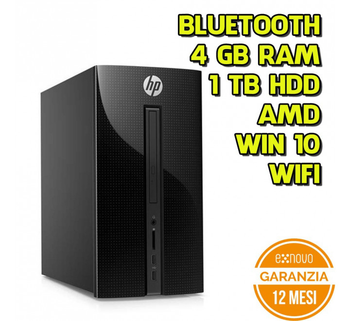 Desktop HP 460-A005NL AMD E2-7110 1.80GHz 4GB Ram 1TB HDD Win 10 Home