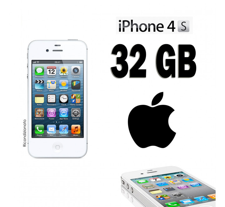 Apple iPhone 4S 32GB Bianco