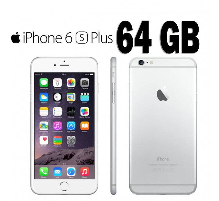 Apple Iphone 6s Plus Nuovo 64GB Silver