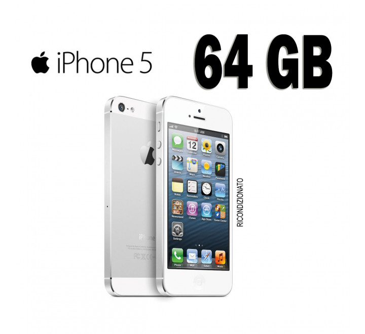 iPhone 5 64GB Colore Bianco
