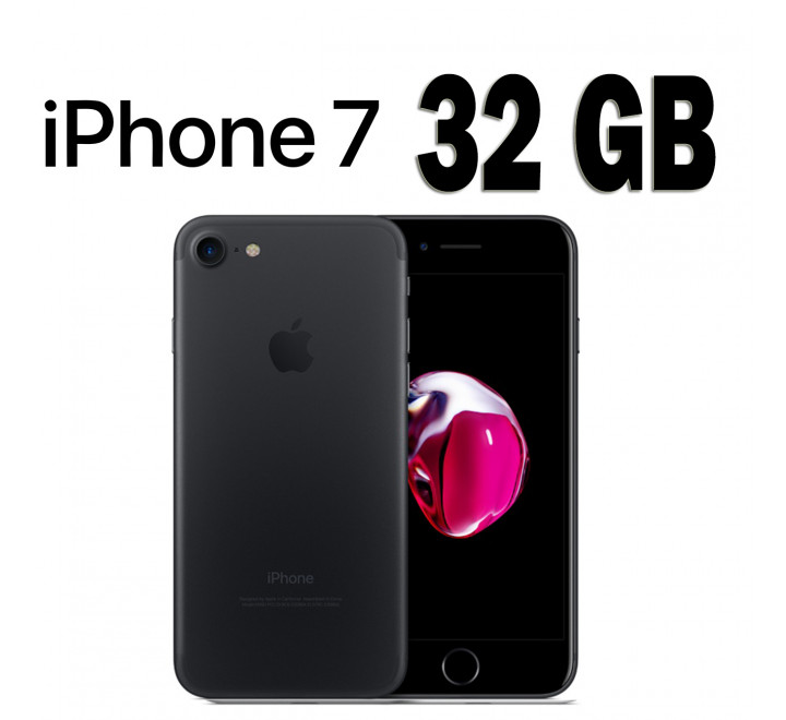iPhone 7 Nuovo 32GB Black