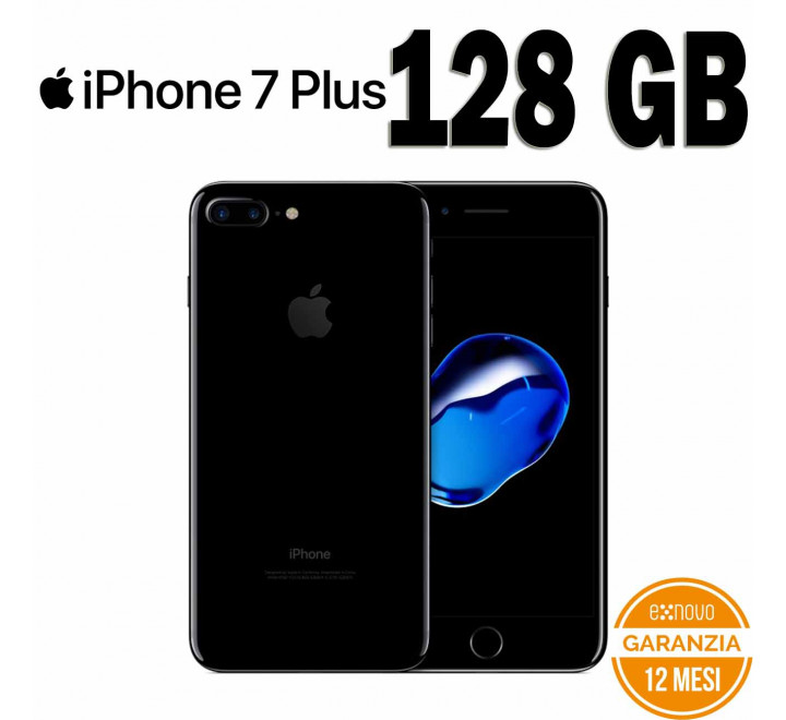 Apple iPhone 7 Plus Ricondizionato 128GB Jet Black - Grado A