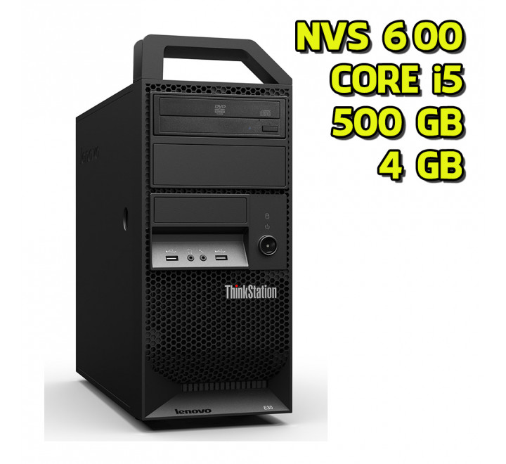 Workstation usata Lenovo E20 Intel Core i5 650 @ 3.20 GHz, 4GB Ram, 500GB HDD, Nvidia NVS 600, Windows 7 Professional