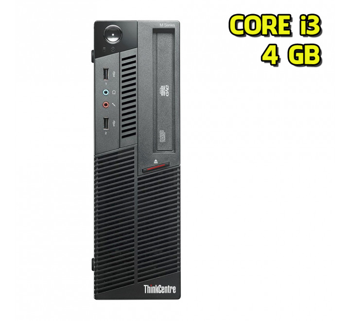 Desktop usato Lenovo ThinkCentre M90 Intel Core i3 530 @ 2.93 GHz 4GB 250GB HDD Windows 7 Professional
