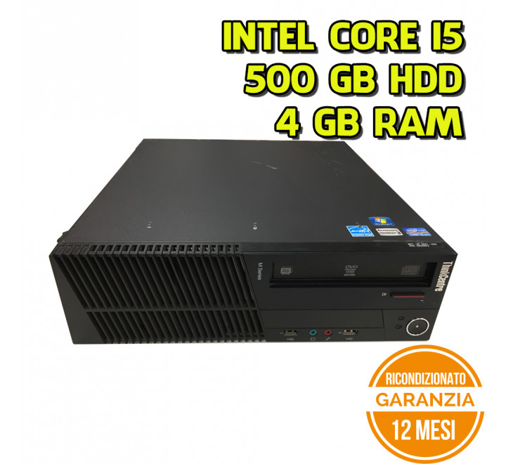 Desktop Lenovo M92P SFF Intel Core i5-3470 3,20 GHz 4GB Ram 500GB HDD Win 10 Pro