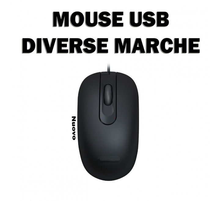 Mouse Nuovo USB Varie Marche