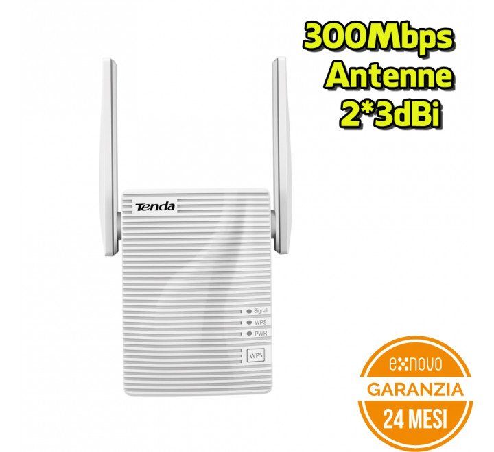 Mini Wi Fi Repeater Tenda A301 N300 300Mbps