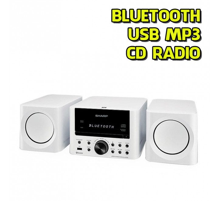 Stereo Radio NUOVO Mini Impianto micro HiFi CD MP3 Bluetooth USB Sharp Home XL LS703BH