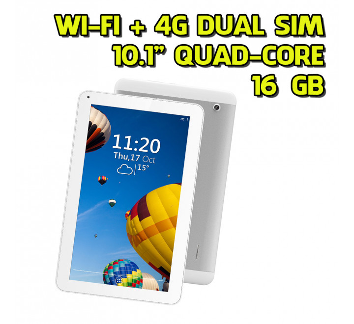 "Tablet Nuovo Techmade TechPad-10QC 10"" Quad-Core 1GB RAM 16GB HDD Dual Sim Android 6.0"
