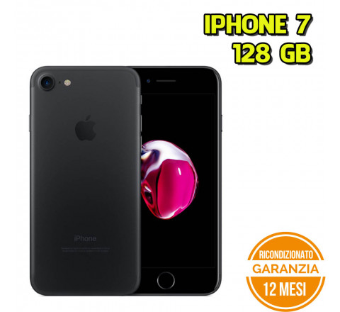 Apple iPhone 7 Ricondizionato 128GB Matte Black - Grado C