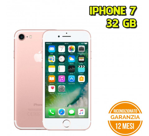 Apple iPhone 7 Ricondizionato 32GB Rose Gold - Grado B