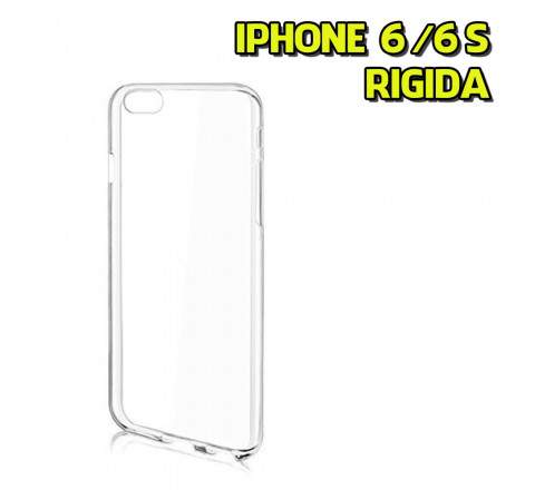 Back Cover rigida trasparente per iPhone 6/6s