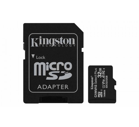 Flashcard MicroSD 32GB Kingston 100MB/S - Nuovo