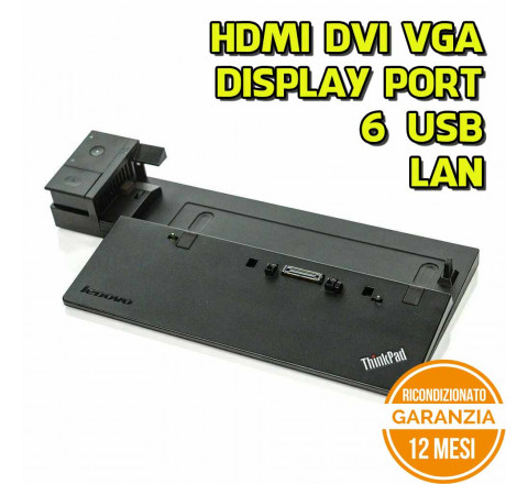 Docking Station Lenovo ThinkPad espansione porte notebook Model 40A2